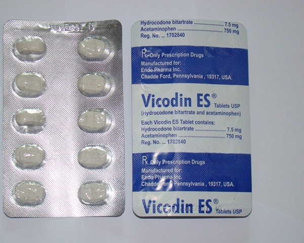 Buy Vicodin ES 7.5/500mg